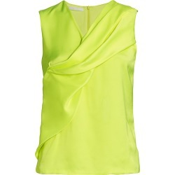 Helmut Lang Women's Knot Twist Top - Neon Yellow - Size 2 found on MODAPINS from Saks Fifth Avenue for USD $99.60