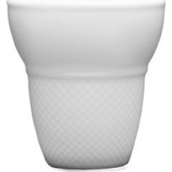 Large Food Truck Porcelain Waffle Cup/Set of 4