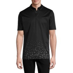 Hugo Hugo Boss Men's Short Sleeve Cotton Polo - Black - Size S found on MODAPINS from Saks Fifth Avenue OFF 5TH for USD $69.99