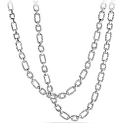 David Yurman Women's Chain Cushion Link Chain Necklace - Silver found on MODAPINS from Saks Fifth Avenue for USD $1400.00