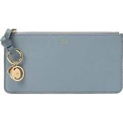 Chloé Women's Leather Card Holder - Cloudy Blue found on Bargain Bro Philippines from Saks Fifth Avenue for $237.00