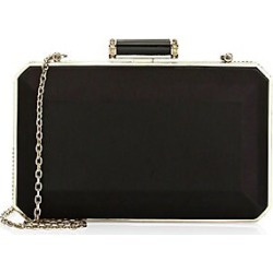 Judith Leiber Couture Women's Soho Satin Clutch - Black found on Bargain Bro Philippines from Saks Fifth Avenue for $1195.00
