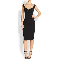 Black Halo Women's Ally Sheath - Black - Size 6 found on MODAPINS from Saks Fifth Avenue for USD $345.00