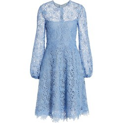 Lela Rose Women's Guipure Lace Fit-&-Flare Dress - Sky Blue - Size 10 found on MODAPINS from Saks Fifth Avenue for USD $477.00