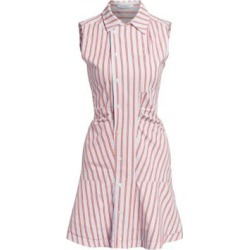 Ruched Sleeveless Poplin Mini Dress found on Bargain Bro Philippines from Saks Fifth Avenue Canada for $128.25