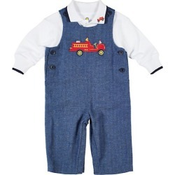 Baby Boy's 2-Piece Herringbone Longall & Shirt Set found on Bargain Bro from Saks Fifth Avenue Canada for USD $59.64