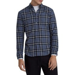Slim-Fit Flannel Plaid Shirt found on GamingScroll.com from The Bay for $38.96