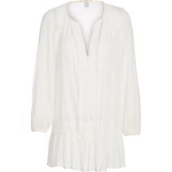 Eberjey Swim Women's Summer of Love Peasant Elba Coverup - Cloud - Size Small found on Bargain Bro India from Saks Fifth Avenue for $135.00