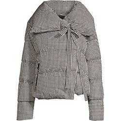 Bacon Women's Houndstooth Puffer Jacket - Pied Poul - Size XS found on MODAPINS from LinkShare USA for USD $785.00