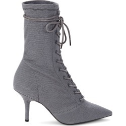 Yeezy Women's Lace-Up Sock Booties - Grey - Size 35 (5) found on MODAPINS from Saks Fifth Avenue OFF 5TH for USD $299.99