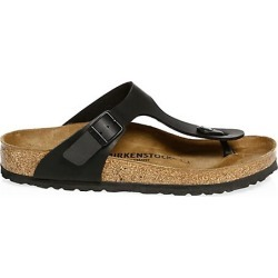 Birkenstock Women's Gizeh T-Strap Sandals - Black - Size 40 (9) found on MODAPINS from Saks Fifth Avenue for USD $99.95