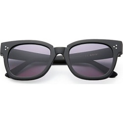 Kyme Men's Ricky 50MM Squared Rectangle Sunglasses - Black found on MODAPINS from Saks Fifth Avenue for USD $300.00
