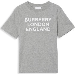Burberry Little Kid's & Kid's BLE Logo T-Shirt - Grey Melange - Size 8 found on Bargain Bro India from Saks Fifth Avenue for $130.00