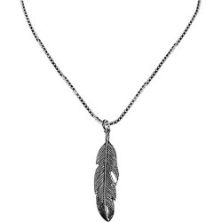 Dell Arte Holy Feather Sterling Silver Pendant Necklace found on Bargain Bro India from Saks Fifth Avenue OFF 5TH for $108.00