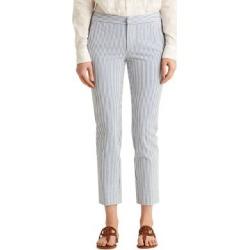 Petite Pantalon court et moulant en seersucker found on Bargain Bro Philippines from La Baie for $155.00