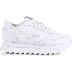 Fila Women's Heritage Orbit Leather Sneakers - White - Size 9 found on Bargain Bro from Saks Fifth Avenue for USD $68.40