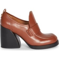Adelie Leather Block Heel Loafers found on Bargain Bro Philippines from Saks Fifth Avenue AU for $932.91