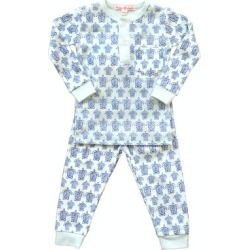 Blue Sea Turtle Pajama Set found on Bargain Bro India from The Bay for $70.00