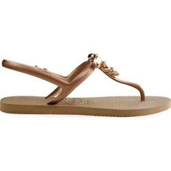 Havaianas Women's Freedom Capri III Crystal-Embellished Sandals - Rose Gold - Size 5 found on MODAPINS from Saks Fifth Avenue for USD $65.62