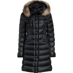 Moncler Women's Hermifur Fox Fur Collar Puffer Coat - Black - Size 4 (XL) found on MODAPINS from Saks Fifth Avenue for USD $2320.00