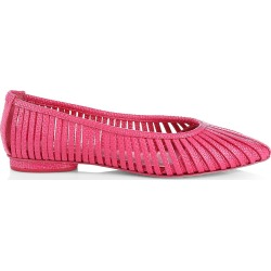 Cult Gaia Women's Leena Raffia Flats - Camellia - Size 11 found on MODAPINS from Saks Fifth Avenue for USD $398.00