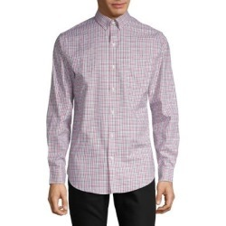 Long-Sleeve Plaid Cotton Shirt found on Bargain Bro India from The Bay for $13.12