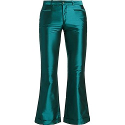 Each X Other Women's Iridescent Kick-Flare Trousers - Petrol - Size XS found on MODAPINS from Saks Fifth Avenue for USD $163.99