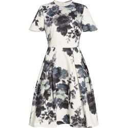 Carolina Herrera Women's Floral A-Line Dress - Black White - Size 4 found on MODAPINS from Saks Fifth Avenue for USD $1490.00