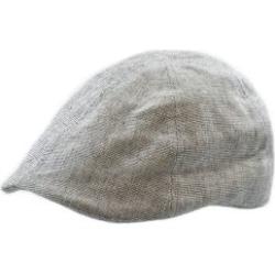 Linen-Blend Duckbill Ivy Cap