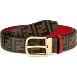 Embossed FF Logo Leather Belt found on Bargain Bro Philippines from Saks Fifth Avenue AU for $668.94