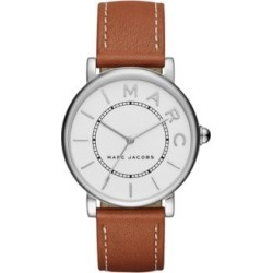 Analog Classic Tan Leather Strap Watch found on MODAPINS from The Bay for USD $164.99
