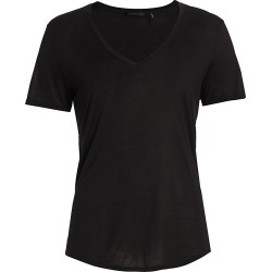 Helmut Lang Women's Slash Back T-Shirt - Black - Size Small found on MODAPINS from Saks Fifth Avenue for USD $50.40