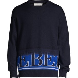 Iceberg Men's Logo Crew Wool Sweater - Patterned - Size Small found on MODAPINS from Saks Fifth Avenue for USD $234.00
