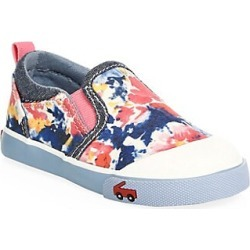 See Kai Run Toddler's & Little Girl's Watercolor Slip-On Sneakers - Blue - Size 12.5 (Child)