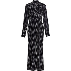 Alexis Women's Davinia Polka Dot Jumpsuit - Black Embroider Dot - Size XS found on MODAPINS from Saks Fifth Avenue for USD $106.12