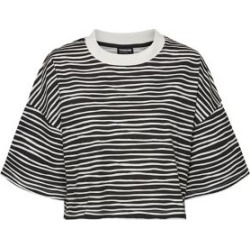 Innes Striped Cotton Cropped Top found on Bargain Bro Philippines from The Bay for $14.50