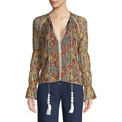 Alexis Women's Samera Floral Blouse - Garden Print - Size Medium found on MODAPINS from Saks Fifth Avenue for USD $212.00