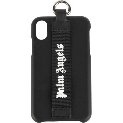 Palm Angels Men's Logo Strap iPhone XS Case - Black White found on Bargain Bro India from Saks Fifth Avenue for $122.49