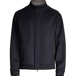 Peter Millar Men's Crown Regular-Fit Flex-Fleece Wool Bomber Jacket - Navy - Size XL found on Bargain Bro Philippines from Saks Fifth Avenue for $495.00
