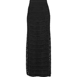 Theory Women's Crochet Skirt - Jet Black - Size Small