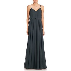 29ac0498a191a Jenny Yoo Women's Inesse Chiffon Gown - Blush - Size 12 found on MODAPINS  from Saks