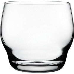 Nude Glass Heads Up 2-Piece Whiskey Glass Set