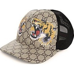 Gucci Men's Tiger Baseball Cap - Beige - Size Small found on MODAPINS from Saks Fifth Avenue for USD $390.00