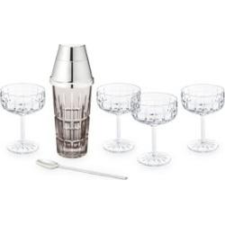 Manhattan Home Speakeasy 7-Piece Crystal Drink Mix Set