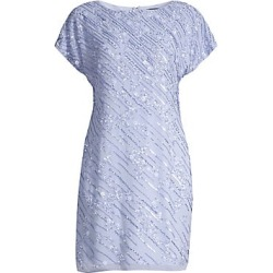 Aidan Mattox Women's Cap Sleeve Embellished Shift Dress - Ice Perry - Size 8 found on MODAPINS from Saks Fifth Avenue for USD $210.00