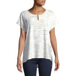 Split Hi-Lo Short-Sleeve Top found on Bargain Bro India from Lord & Taylor for $11.88