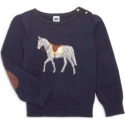 Little Girl's & Girl's Saddle Horse Sweater