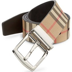 Burberry Men's Clarke Vintage Check Belt - Archive Beige - Size 85 (34) found on Bargain Bro India from Saks Fifth Avenue for $430.00