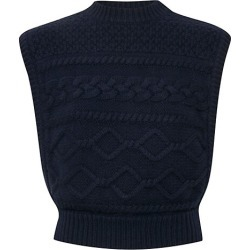 Lupia Cable Knit Wool-Blend Sleeveless Sweater found on MODAPINS from Saks Fifth Avenue Canada for USD $136.78