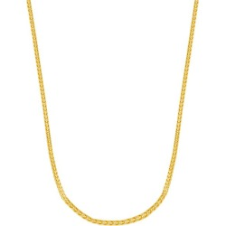 14K Yellow Gold Franco Chain Necklace/3MM found on Bargain Bro Philippines from Saks Fifth Avenue OFF 5TH for $3935.00